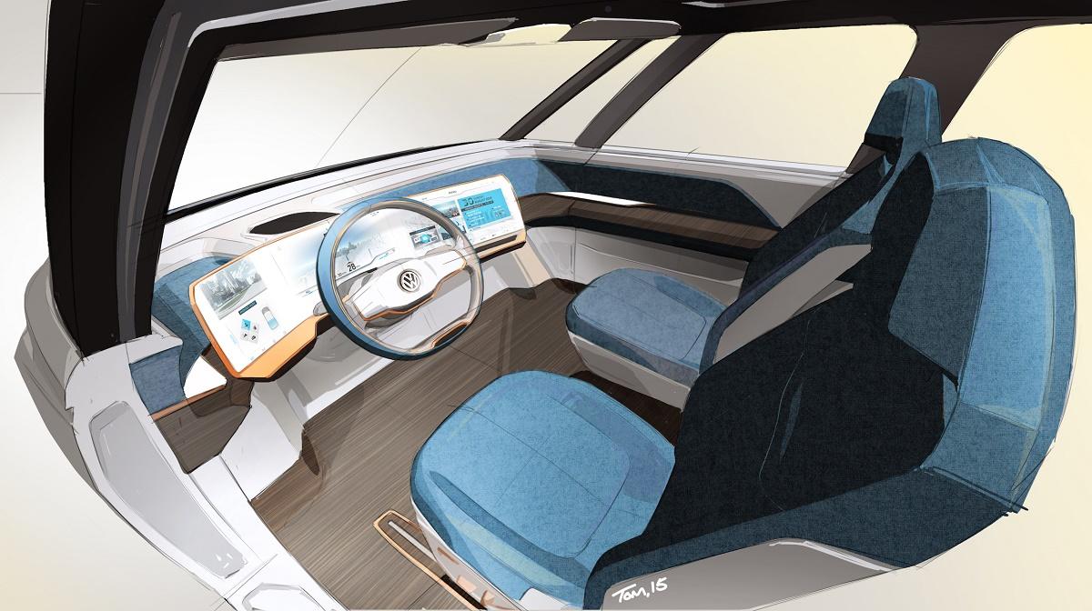 VW Budd-e Interior