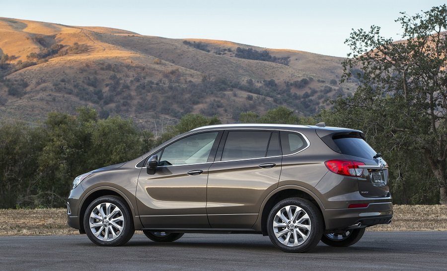 2016 Buick Envision Side
