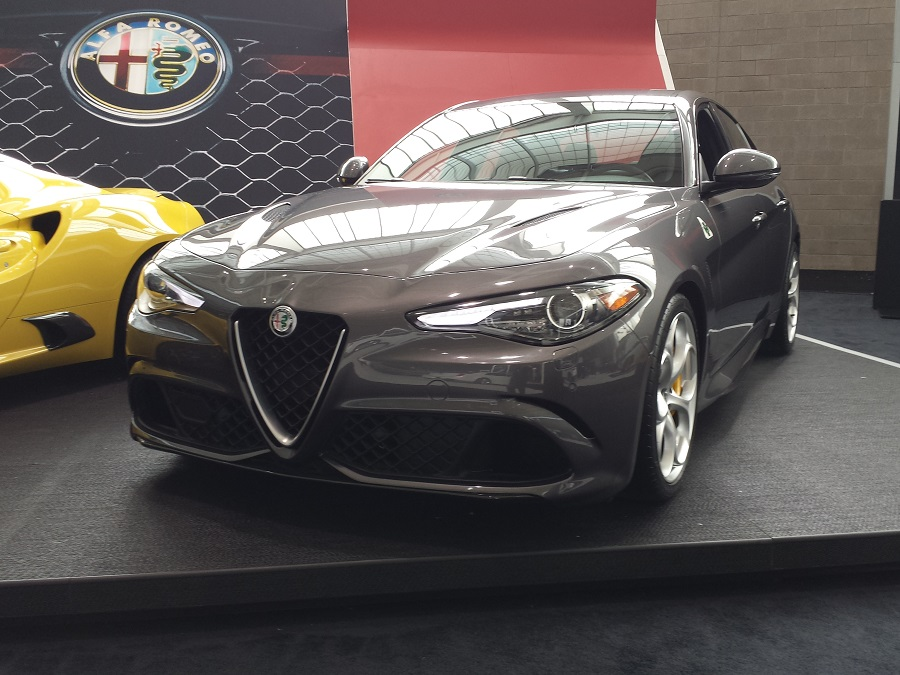 Alfa Romeo Giulia And Other Surprises At The New England - New england car show