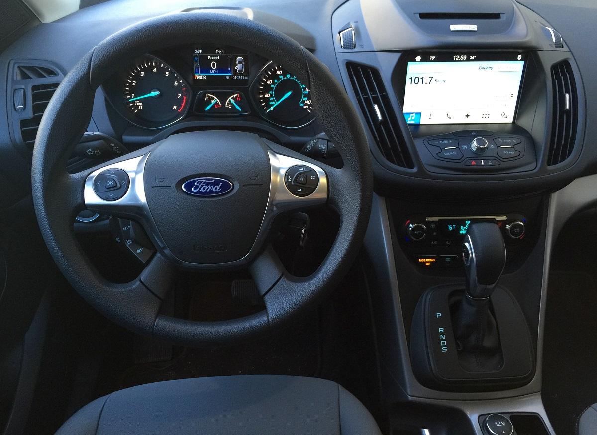 2016 Ford Escape SE FWD Dash