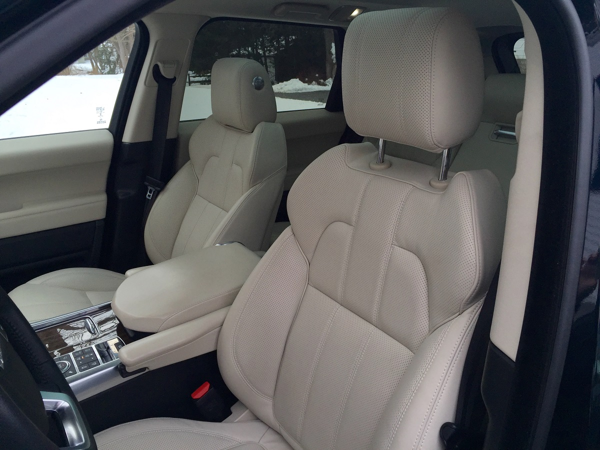 2016 Range Rover Sport HSE Td6 Front Seats