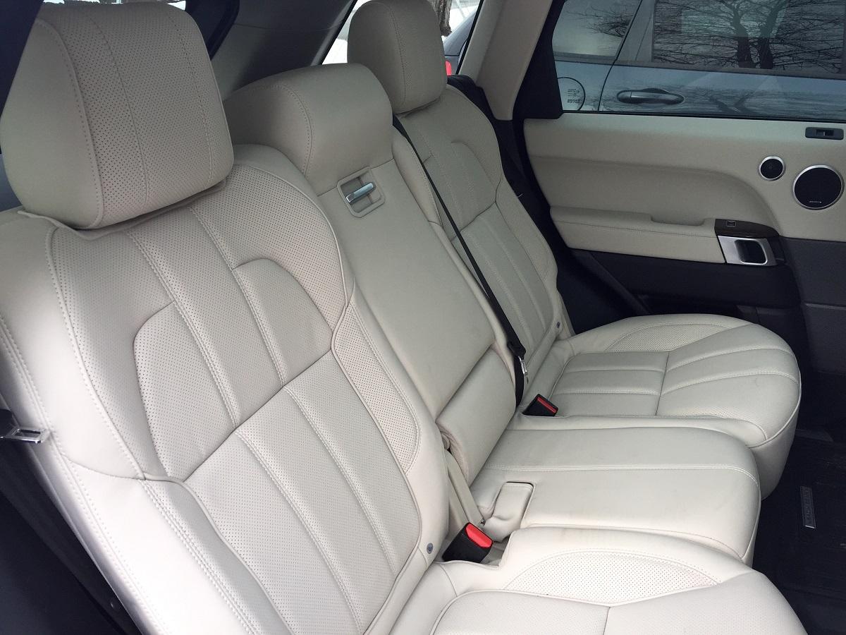 2016 Range Rover Sport HSE Td6 Rear Seats