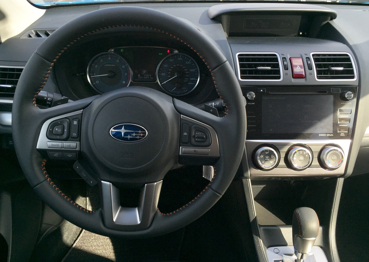 2016 Subaru Crosstrek Dash