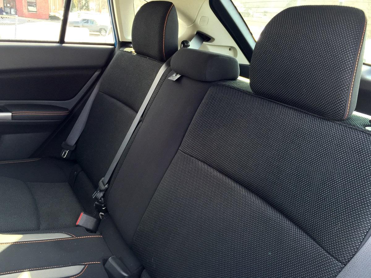 2016 Subaru Crosstrek Rear Seats