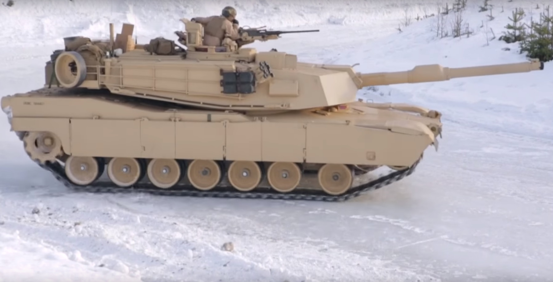 Tanks on Ice
