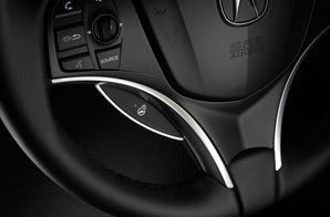 heated steering wheel acura