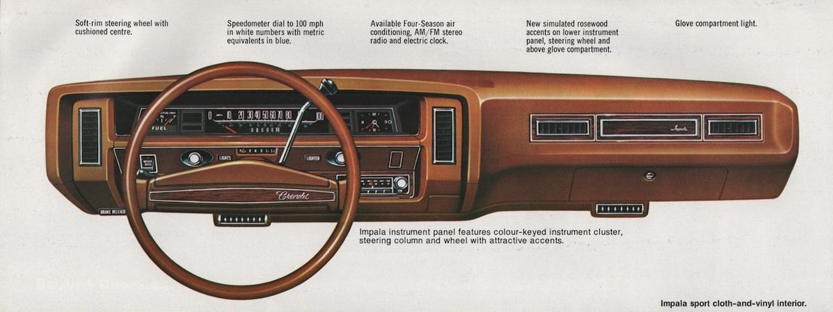1976 Impala dash
