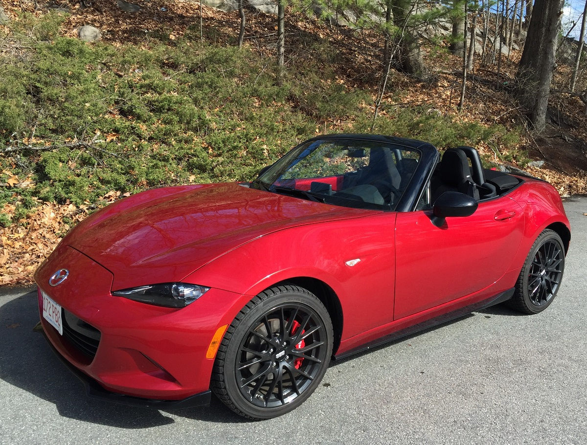2016 Mazda MX-5 Miata Top Down