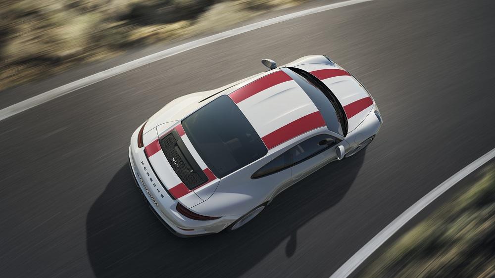 2016 Porsche 911 R Top
