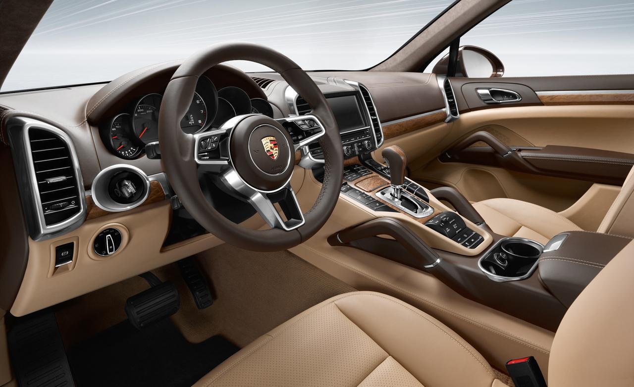 2016 Porsche Cayenne Interior