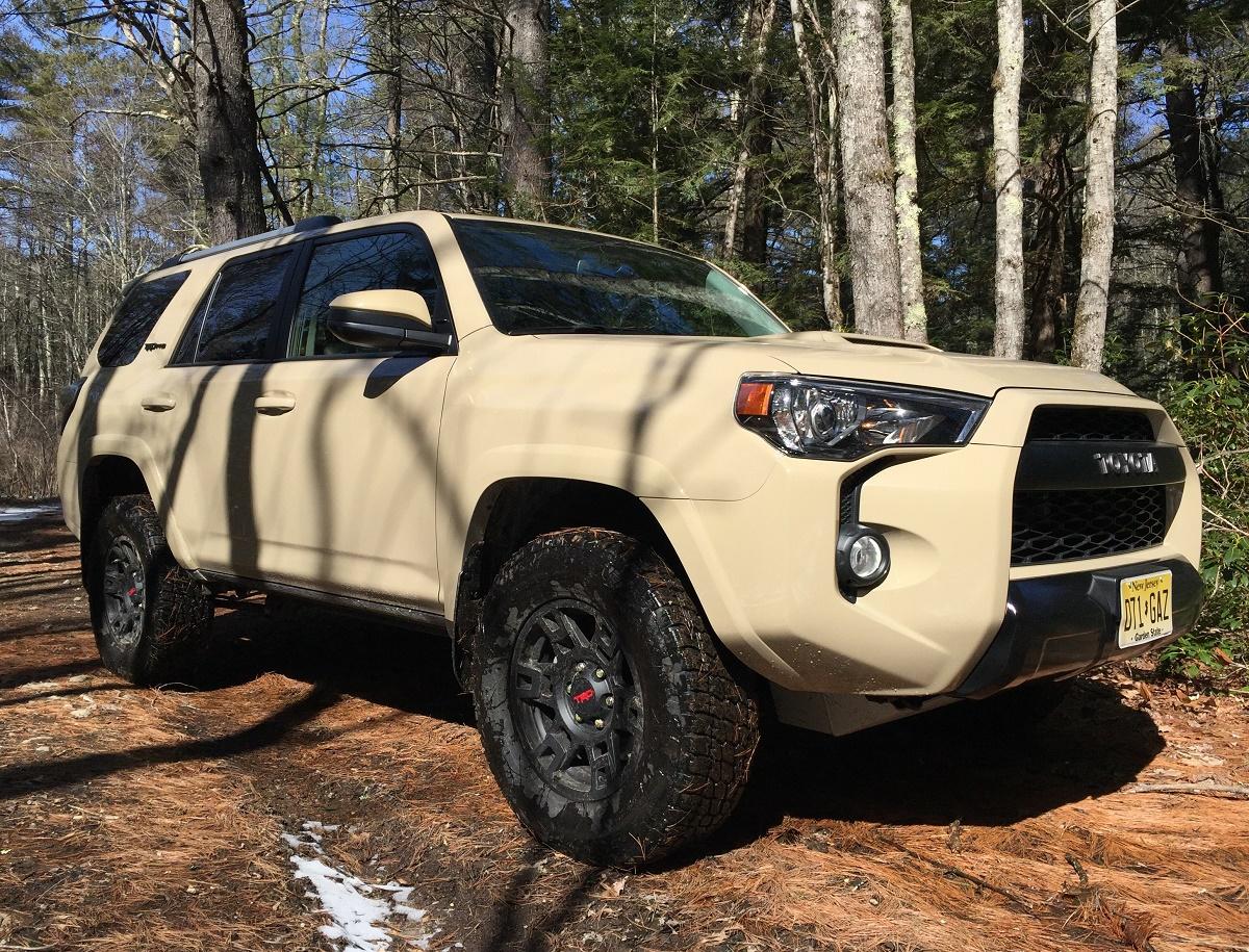 2016 Toyota 4Runner TRD Pro Side