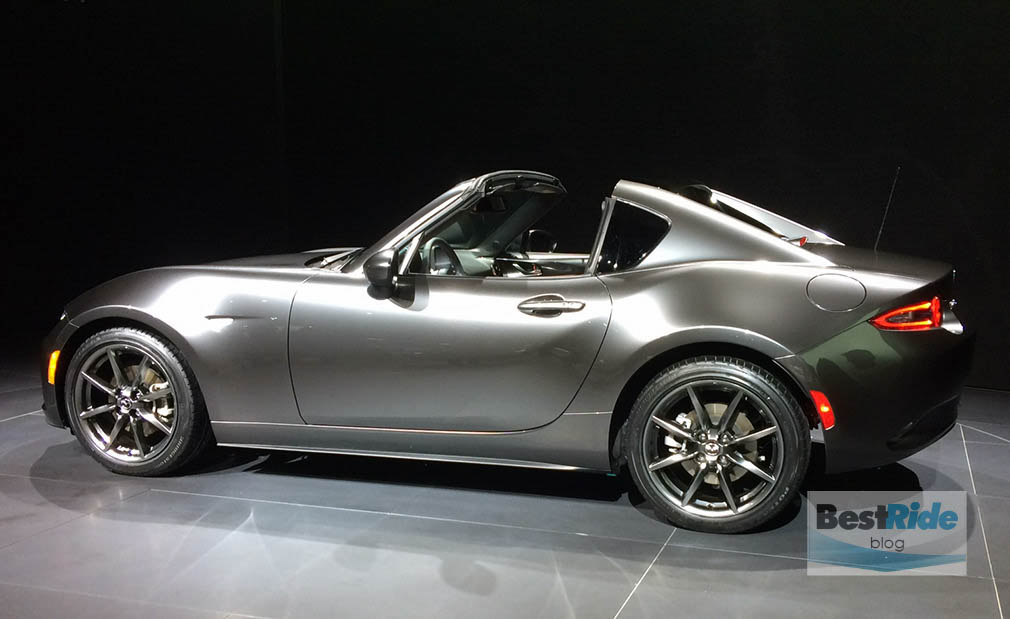 the 2017 mazda miata rf fastback is sexy as hell ar15 com. Black Bedroom Furniture Sets. Home Design Ideas