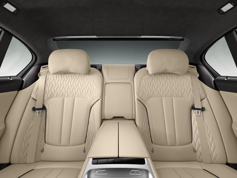 BMW M760i xDrive rear seats