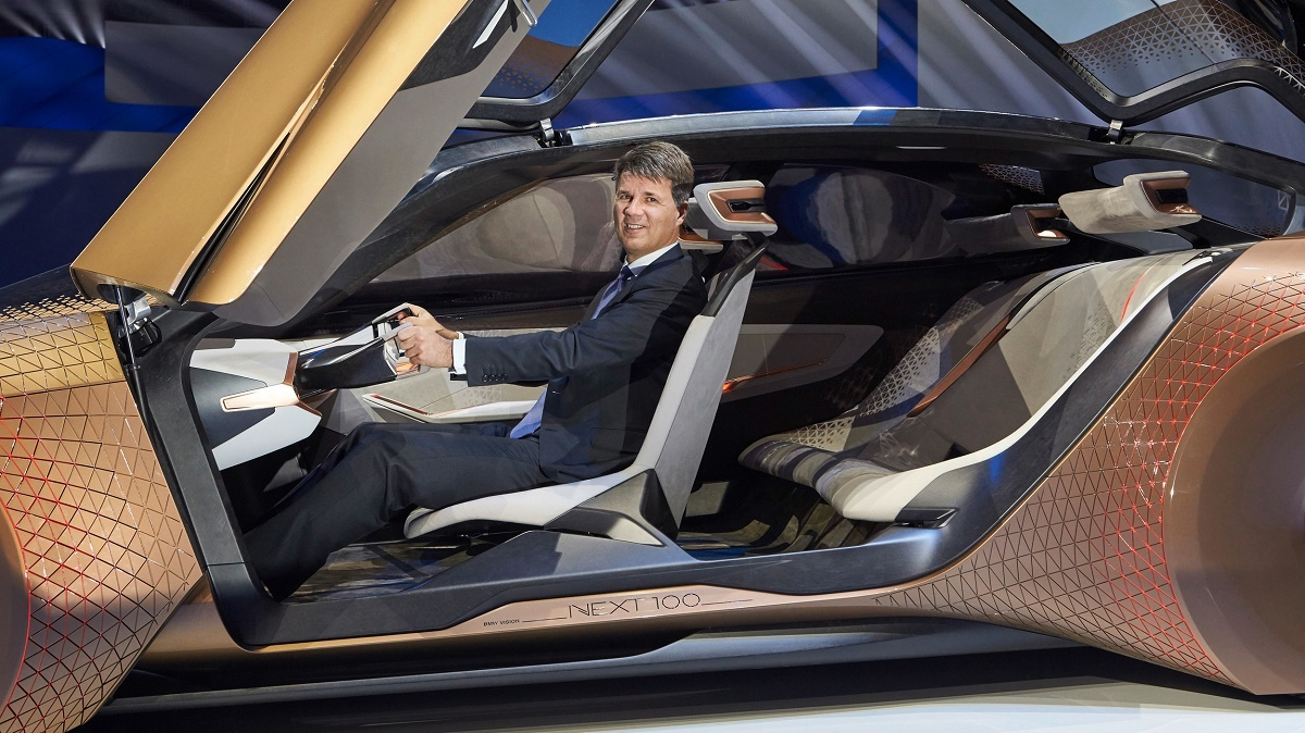 BMW Vision Next 100 Concept Interior