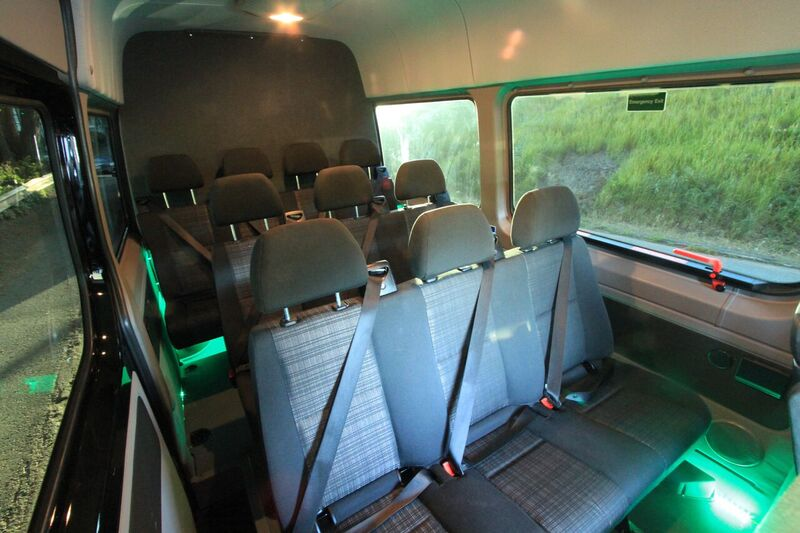 Bandago Mercedes Benz Sprinter Interior