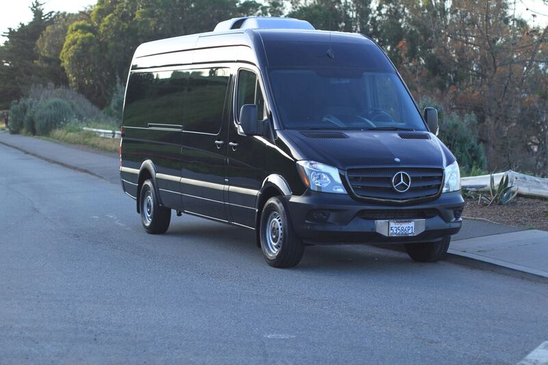 Bandago Mercedes Benz Sprinter outside