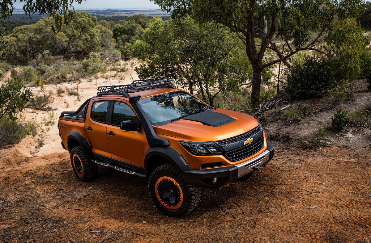 Truck chevy concept truck : Chevy Colorado Xtreme is More Truck Than You Can Handle | BestRide