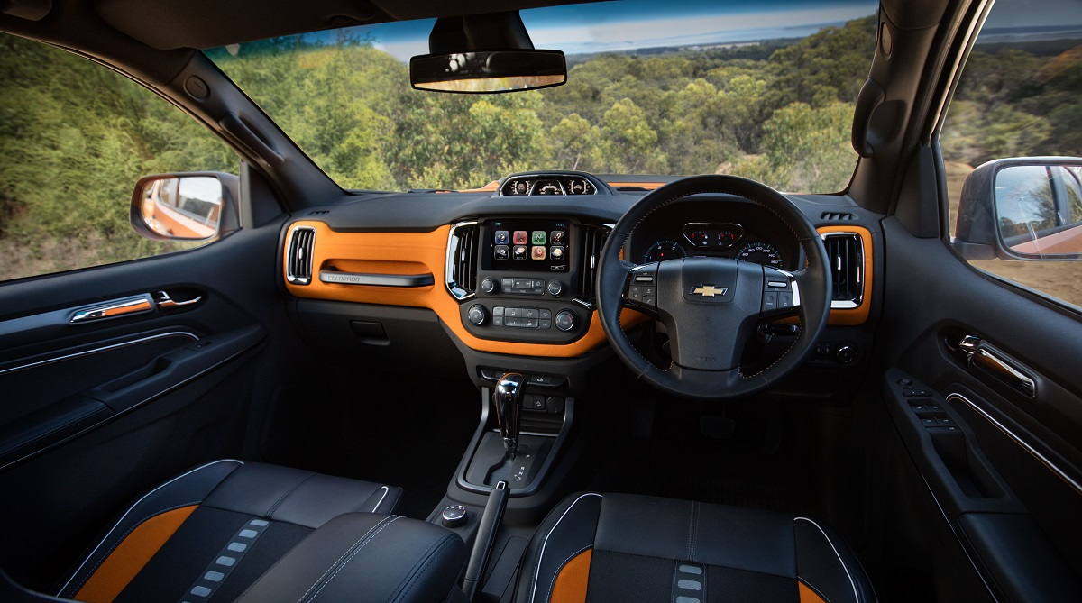 Chevy Colorado Xtreme Interior