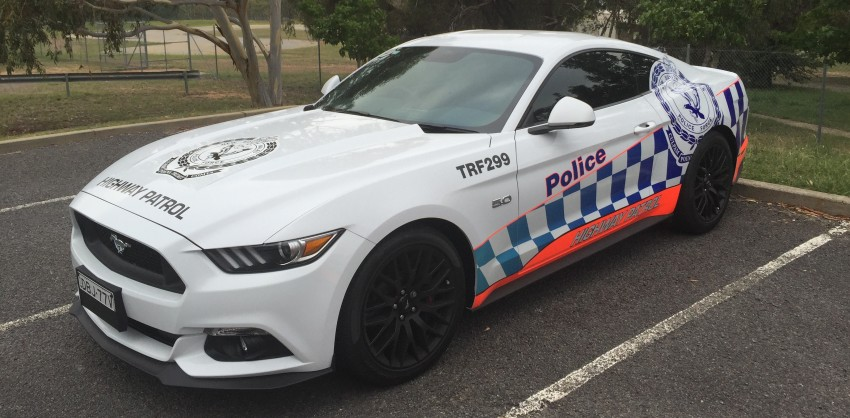 Ford Mustang Australian Police