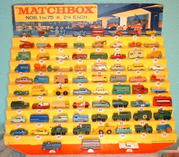 Your First Car The History Of Matchbox Toys Bestride