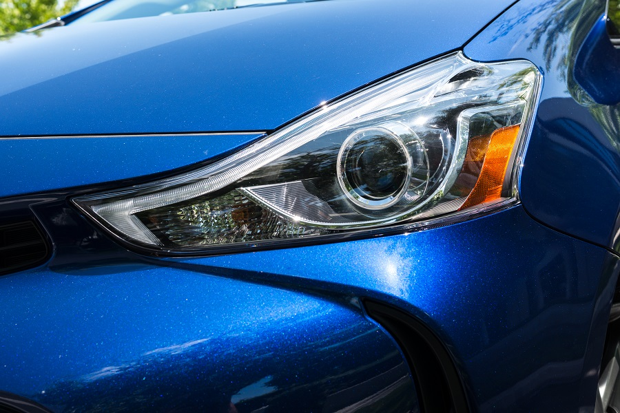 Prius V headlight