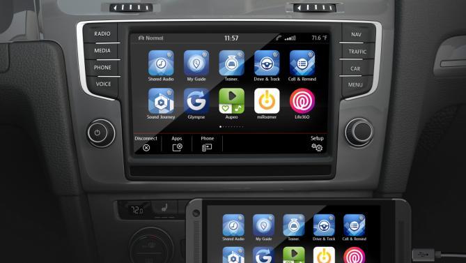 Volkswagen Advanced Gesture Controls