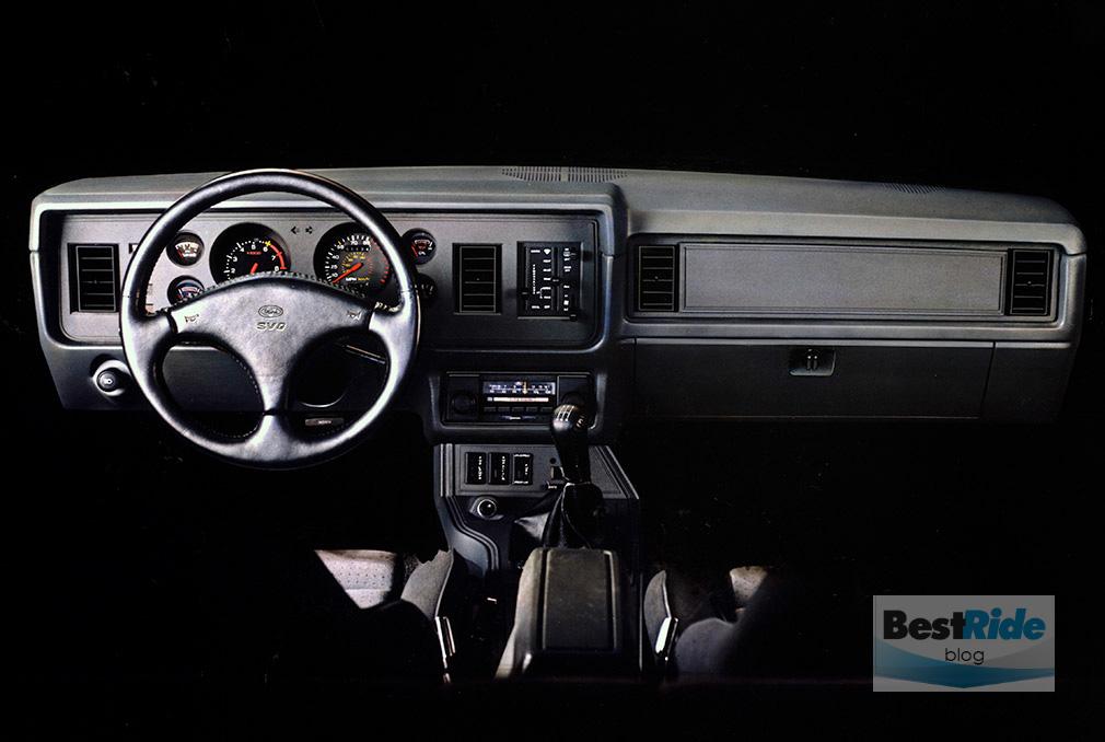 1984 Mustang SVO