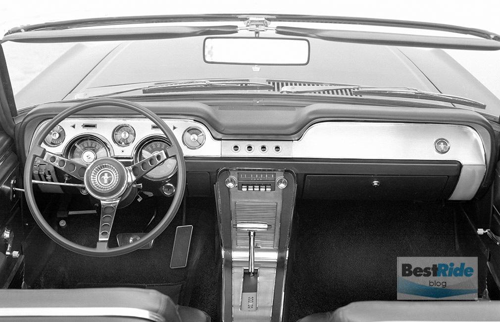 1967 Mustang Instrument Panel
