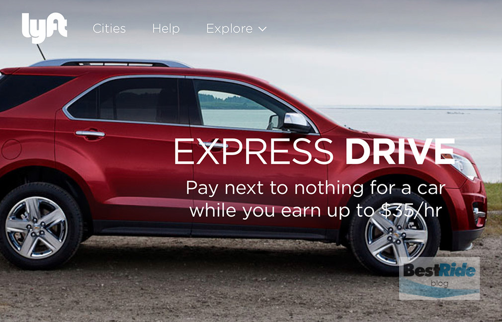 GM and Lyft announced Express Drive, a short term rental program