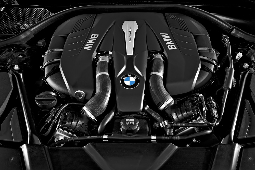 2016 BMW 7 Series Engine