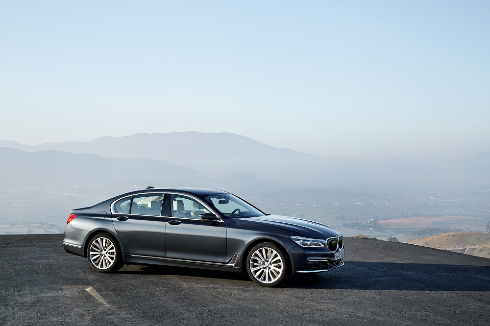 2016 BMW 7 Series Front 2