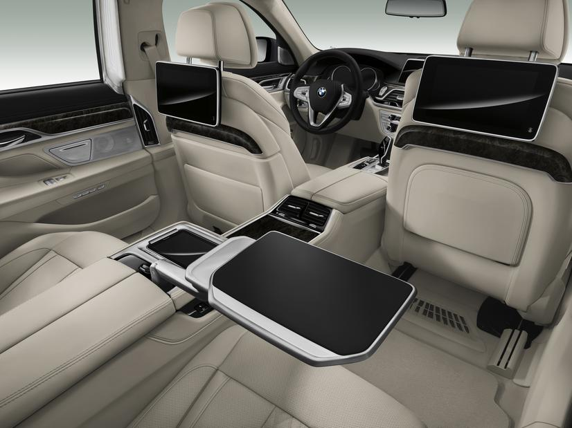 2016 BMW 7 Series Rear Seat