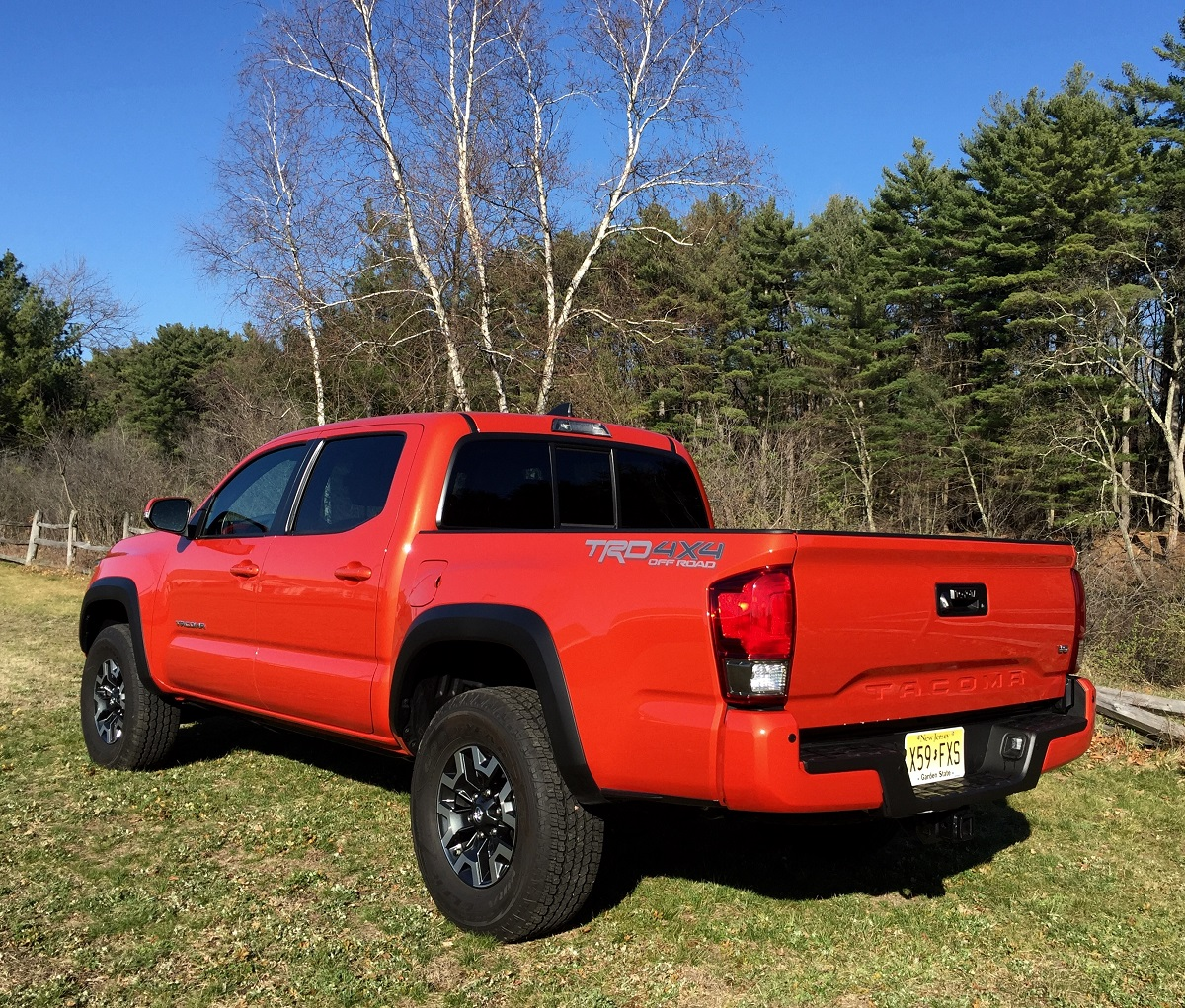 2016 Toyota Tacoma Trd Off Road Rear