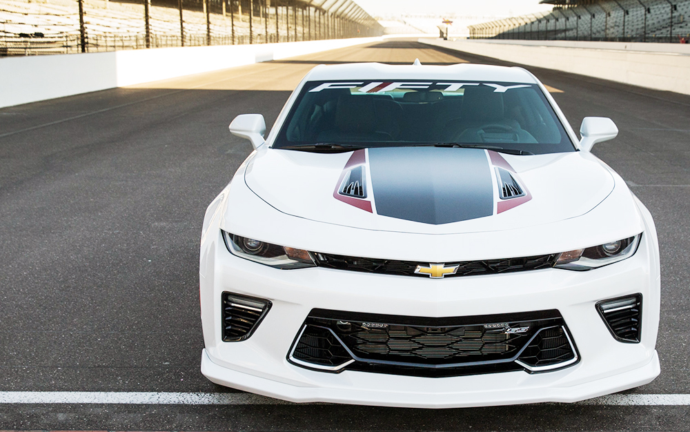 RACING: 2017 50th Anniversary Chevrolet Camaro SS and Penske to ...
