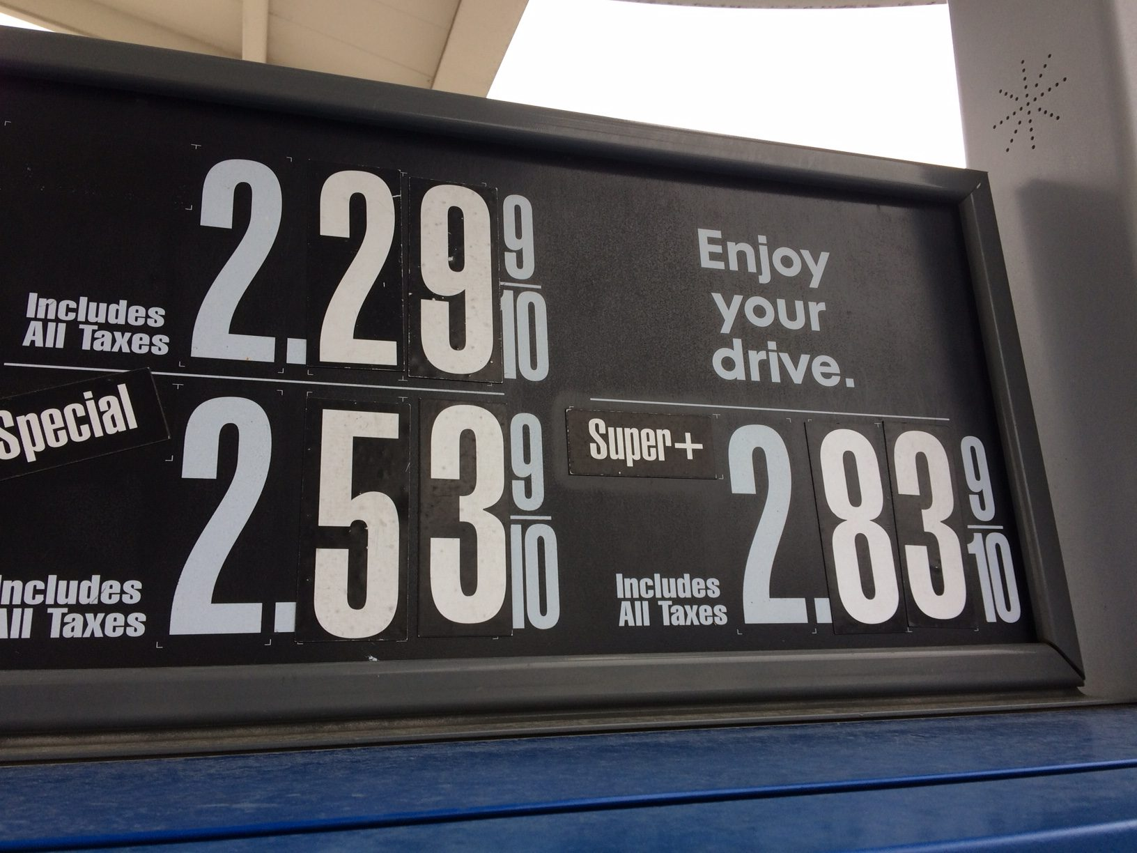 Premium vs Regular Fuel Price