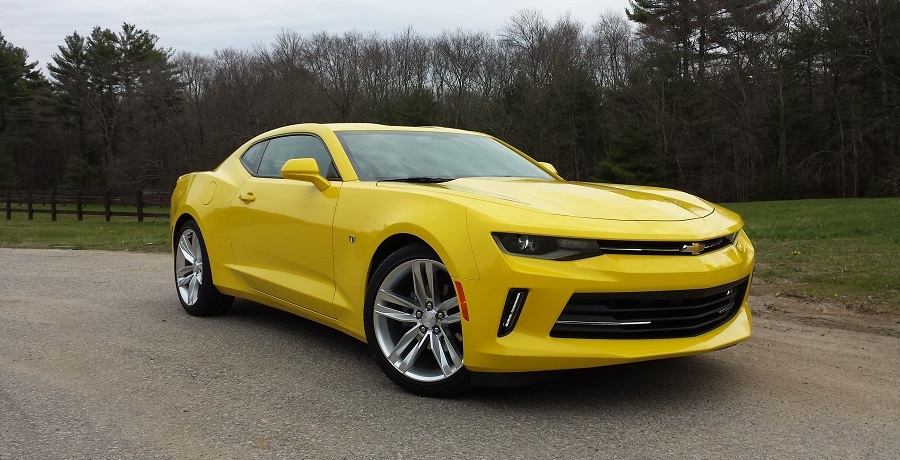 REVIEW: 2016 Chevrolet Camaro 2LT Coupe – I Could've Had A V8!