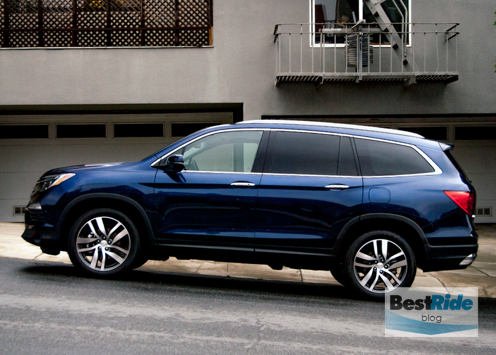Review 2016 honda pilot elite awd checking every box for Certified pre owned honda pilot 2016
