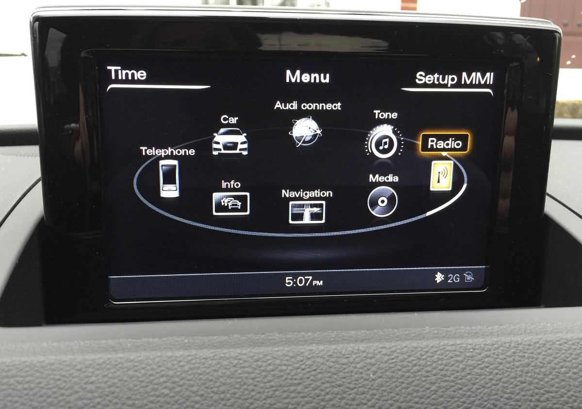 2016 Audi Q3 Infotainment