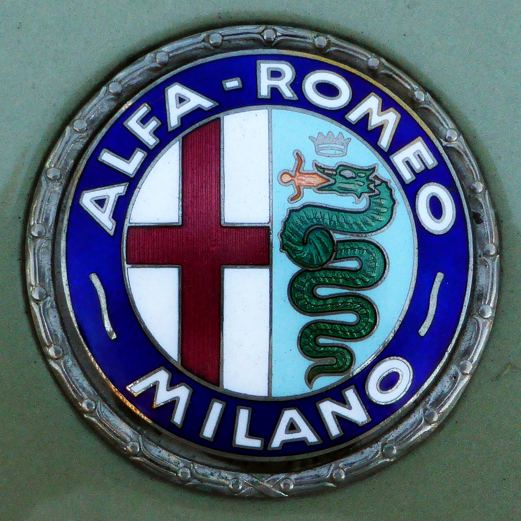 Alfa Romeo Badge Early