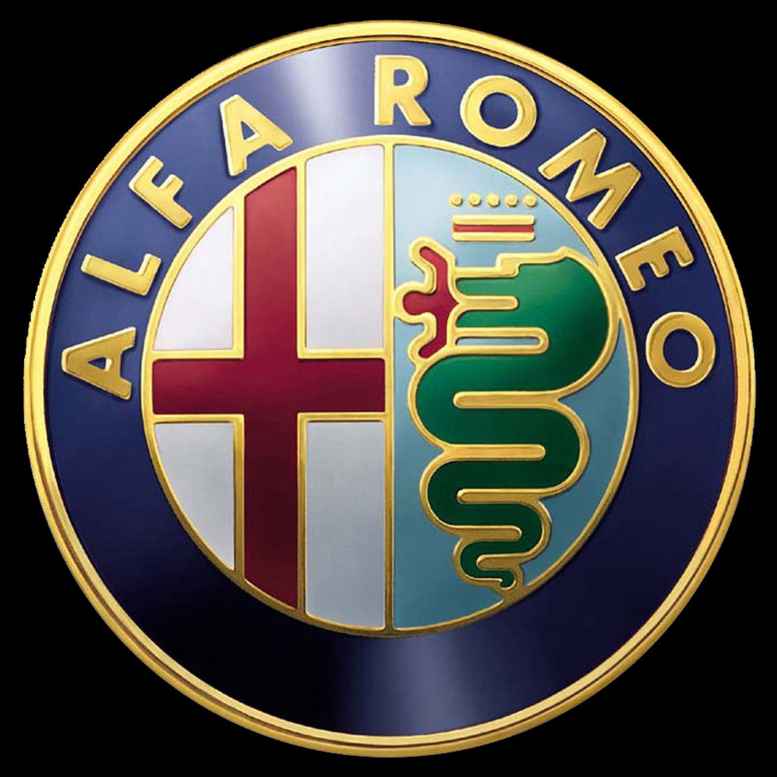 Alfa Romeo Badge Modern