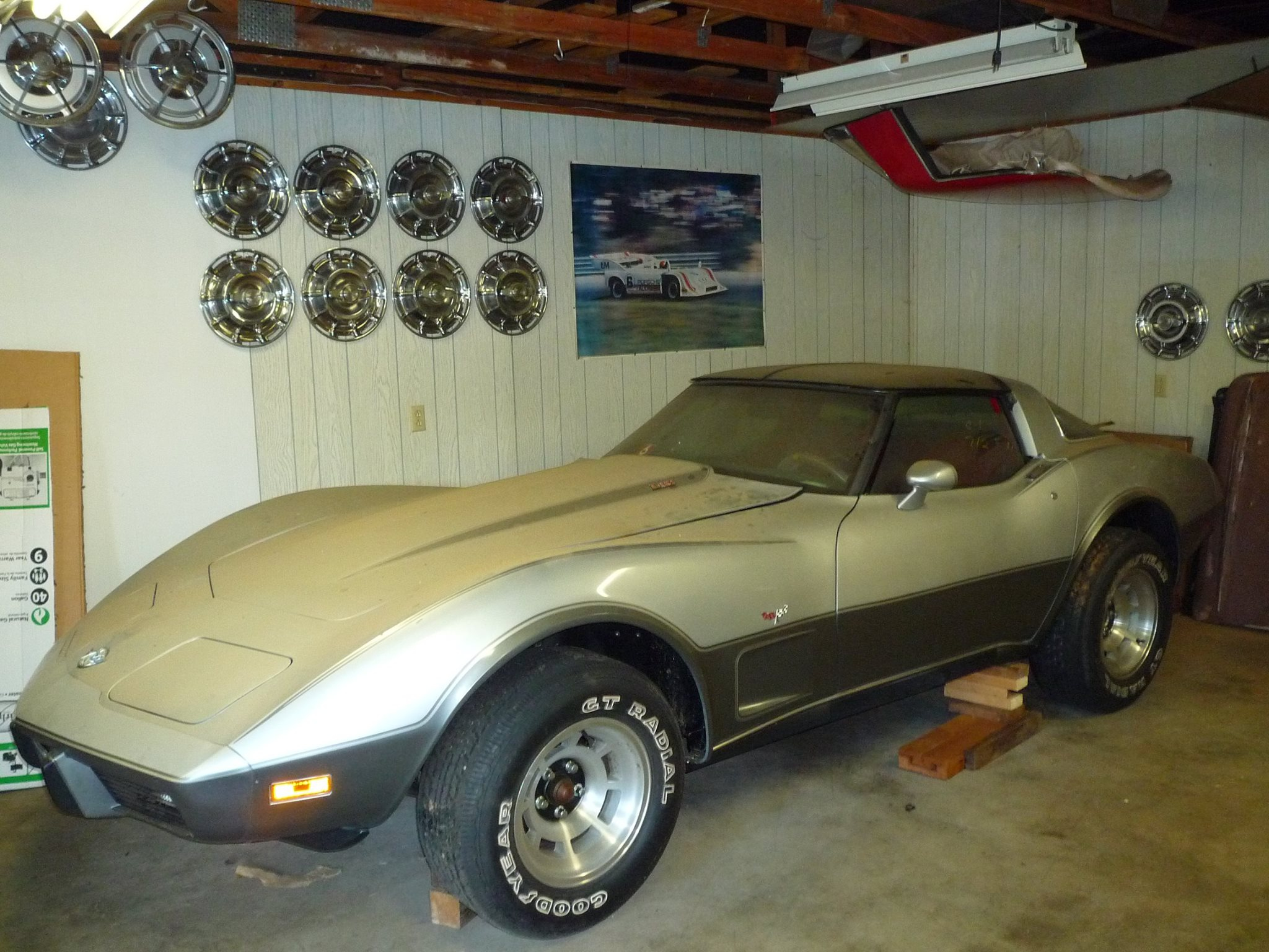 BARN FIND This 1978 Silver Anniversary Corvette Has 4 1 Miles