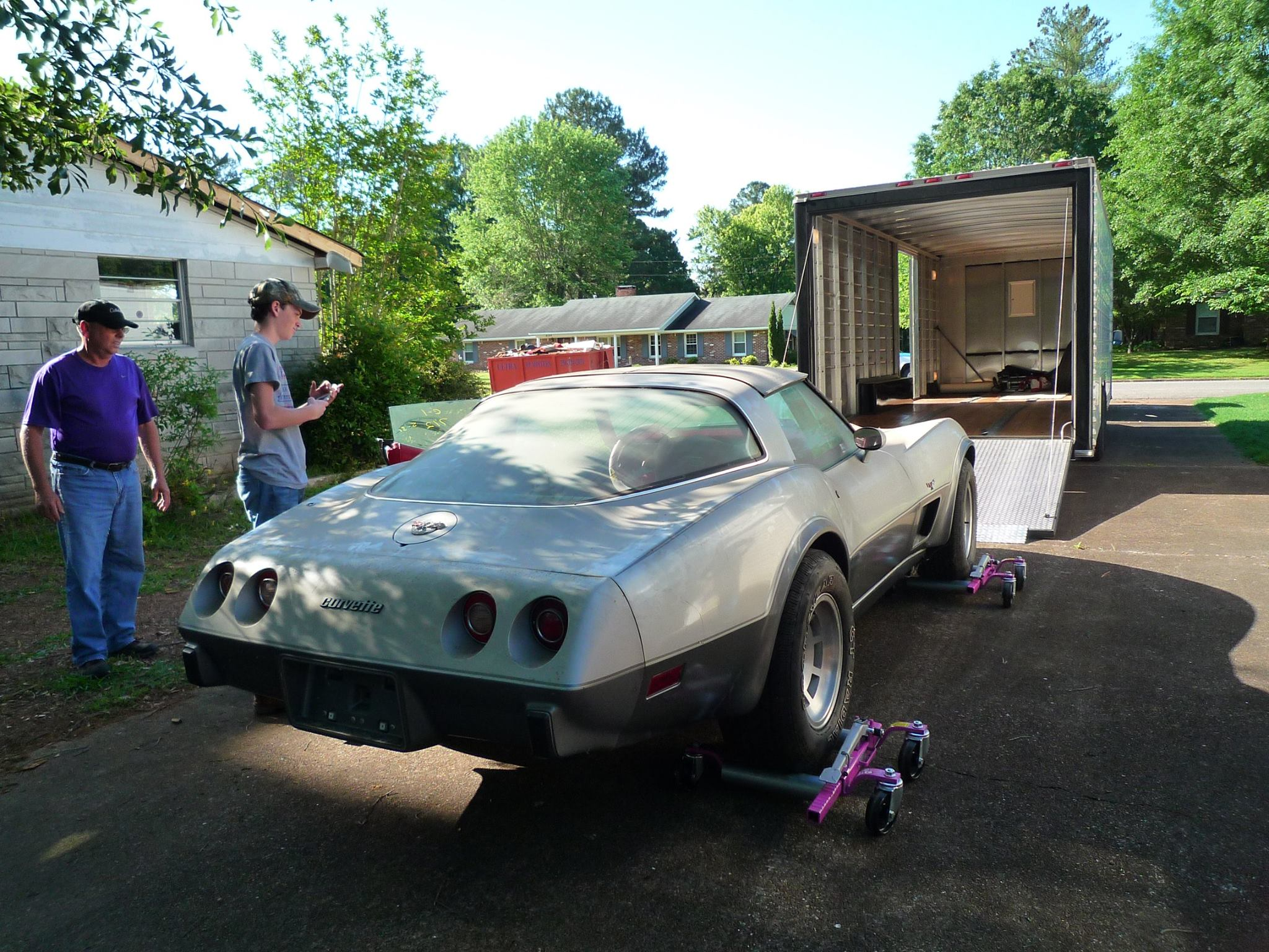 Corvette Barn Find 3