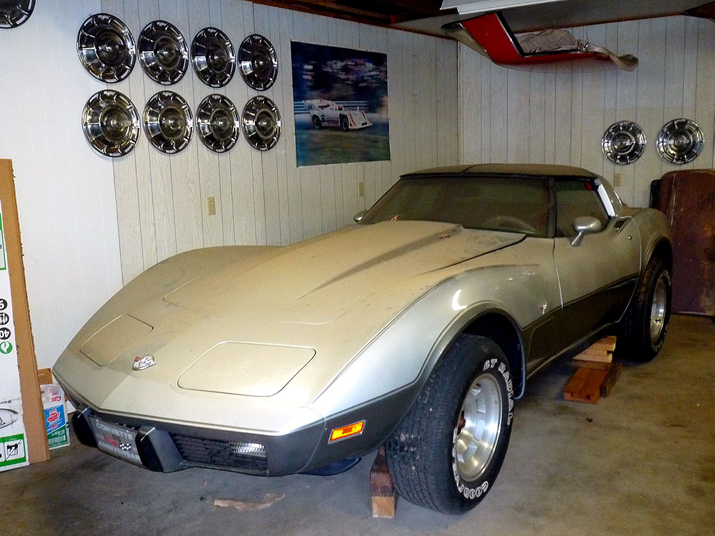 BARN FIND: This 1978 Silver Anniversary Corvette Has 4 1 Miles