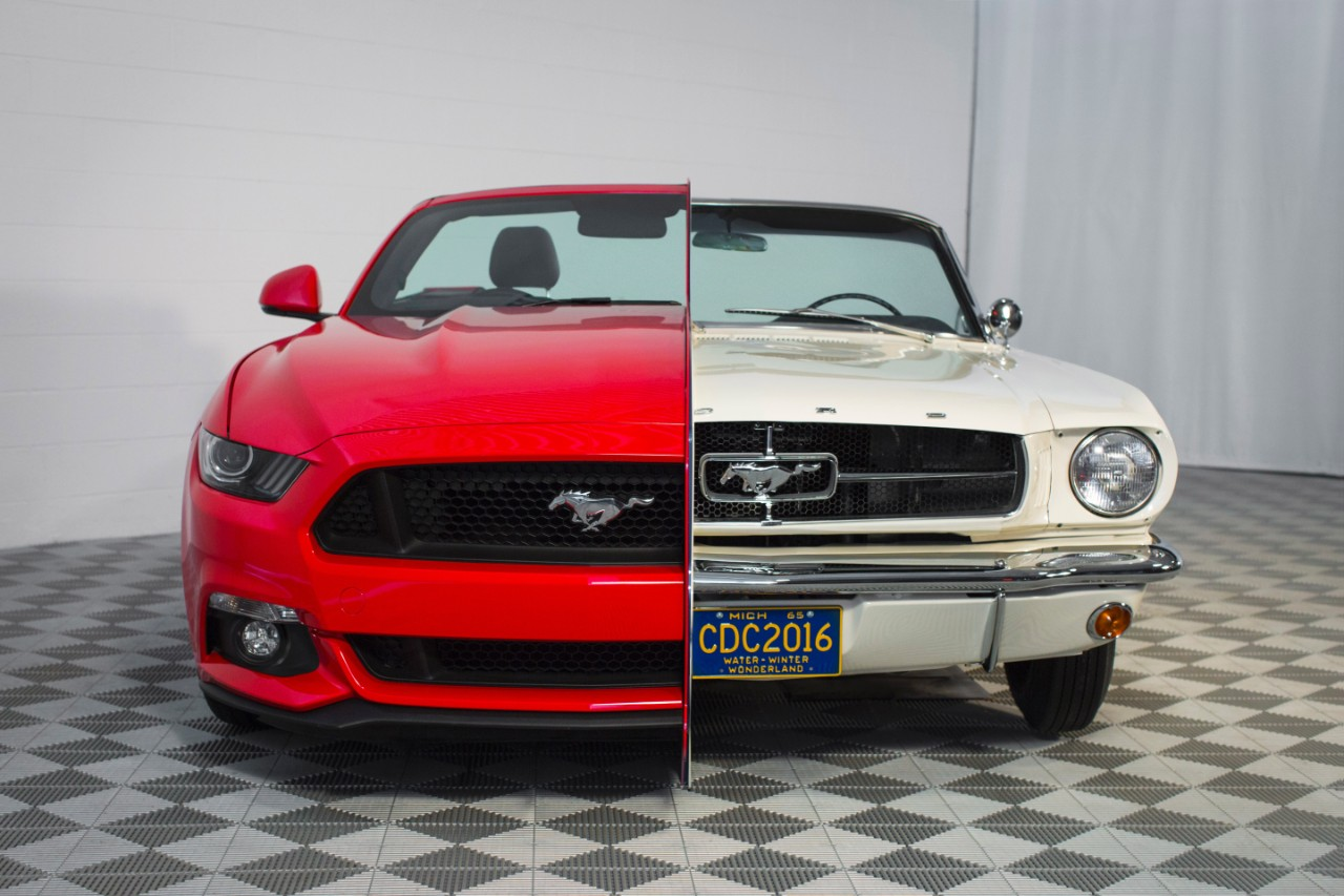 a history of the early years of ford mustang a ford motor company product Ford motor company management made the decision to invest its capital to build the car because they believed there was a profitable market ford assembly line workers delivered the product.