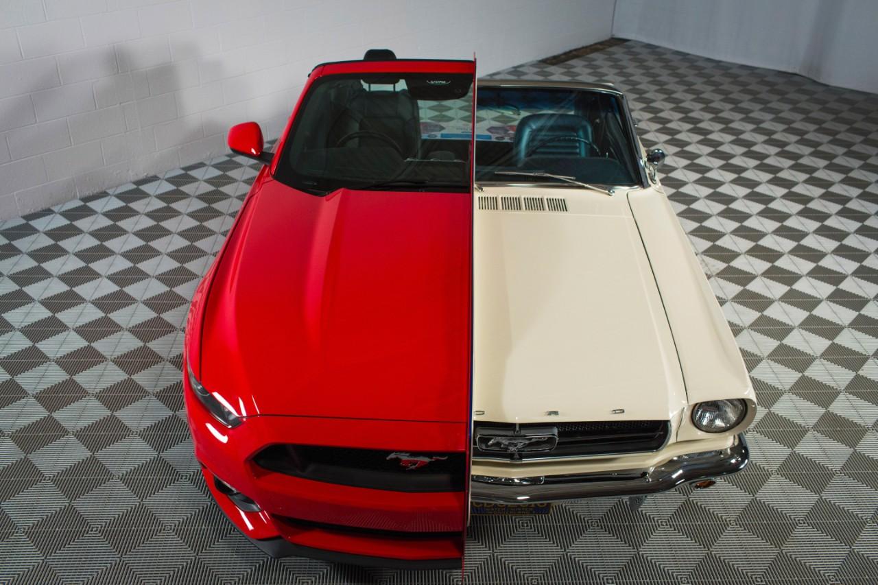 Ford Mustang Display Hood