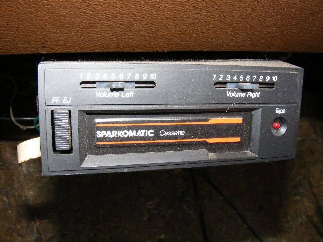 Sparkomatic Cassette Player