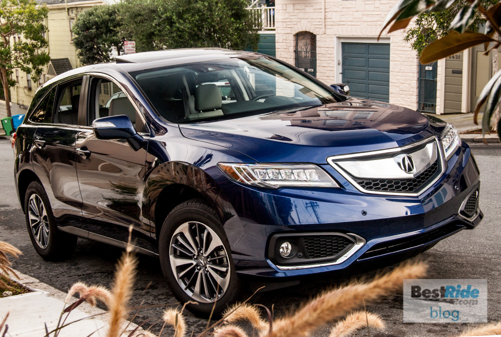 review 2016 acura rdx awd advance premium sportiness bestride. Black Bedroom Furniture Sets. Home Design Ideas
