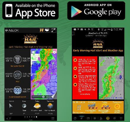 hail protector mobile app