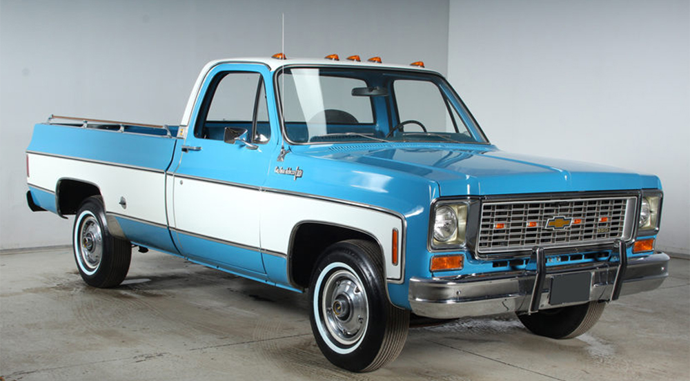New Chevy Truck >> AUCTION: This 1974 Chevrolet Custom Deluxe Is Killing Us ...