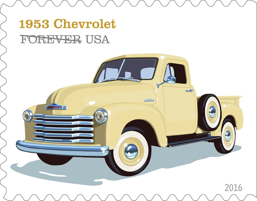 MEMORABILIA: Post Office To Honor Pickup Trucks with Forever